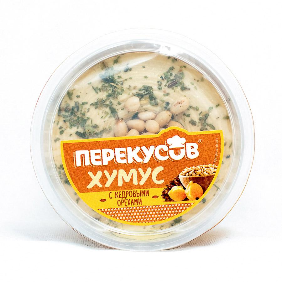 Хумус с кедровыми орехами